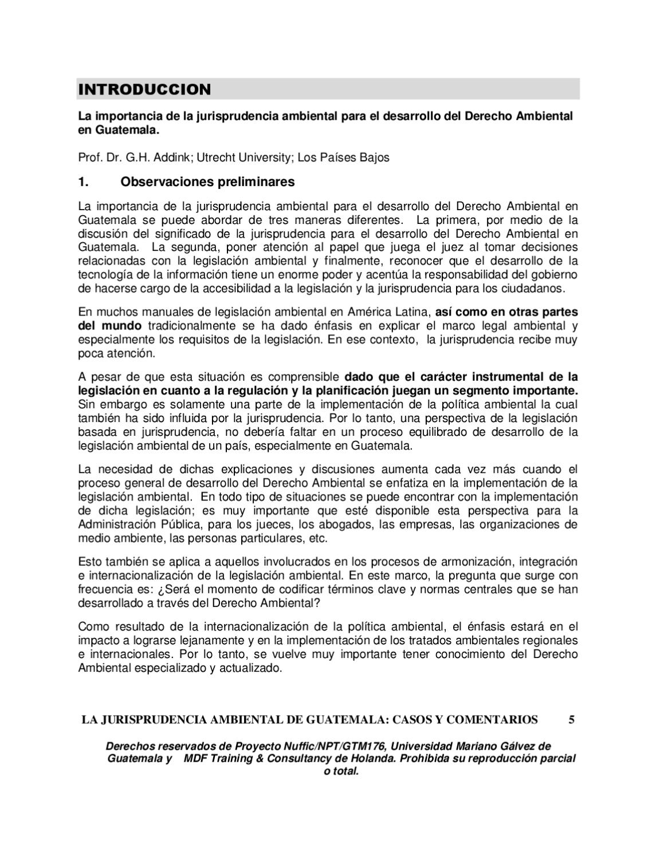 Jurisprudencia Ambiental de Guatemala by Fabiola Flores - issuu