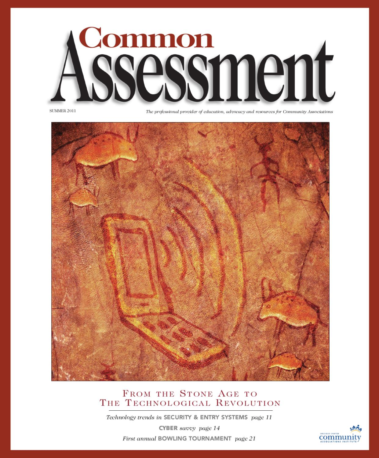 Common Assessment Magazine April May June 2011 By Cai San Diego Issuu