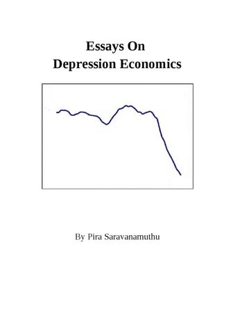 essays on depression economics by alpha beta issuu page 1 essays on depression economics