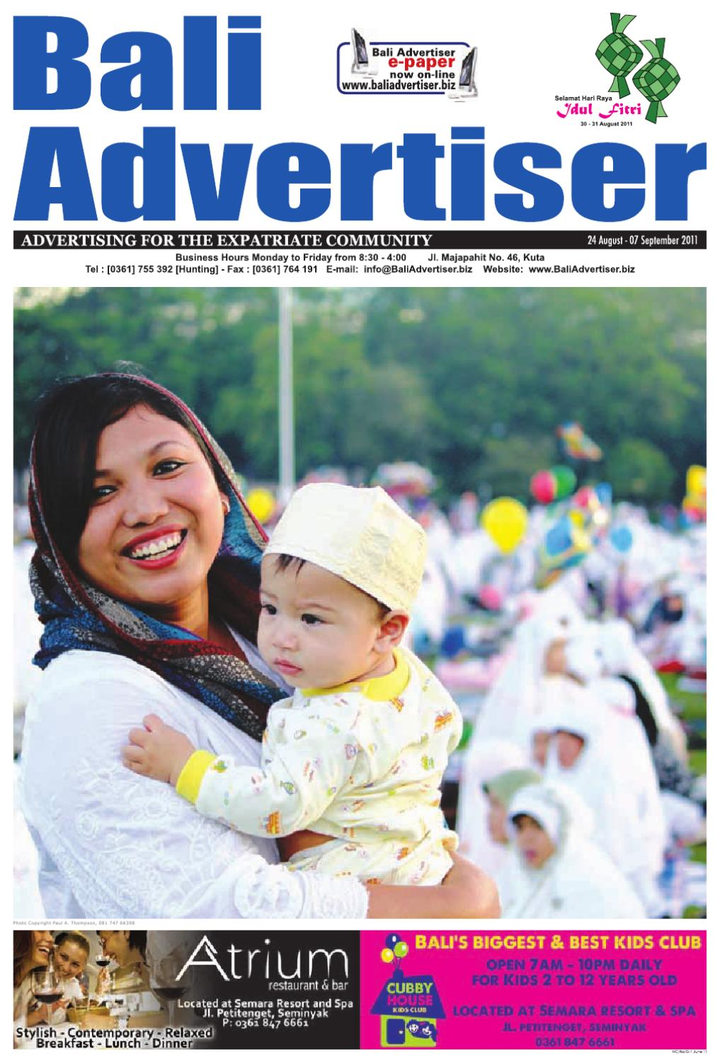 Ba 24 August 2011 By Bali Advertiser Issuu Apple Iphone 5 16gb Grs Intl Hitam