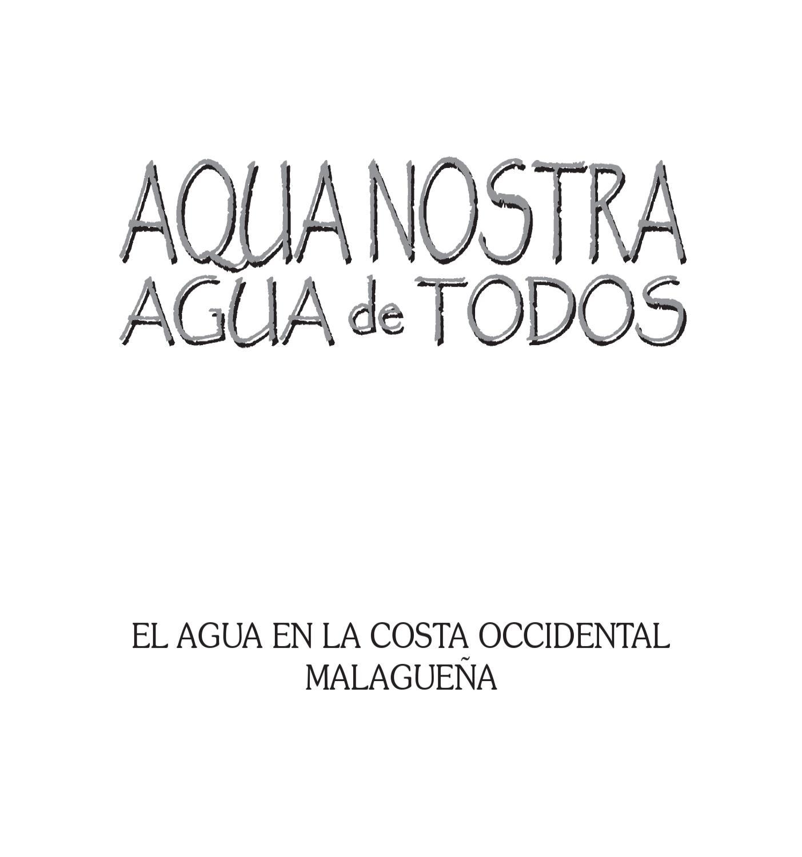 Cilniana: Aqua Nostra by Marbella Ayuntamiento - issuu
