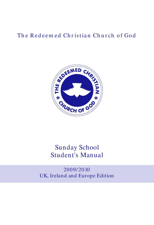 THE SUNDAY SCHOOL STUDENTS MANUAL lesson study a by Raphael Olurotimi -  issuu