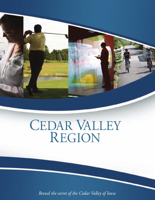Cedar Valley Region of Northeast Iowa by Waterloo-Cedar