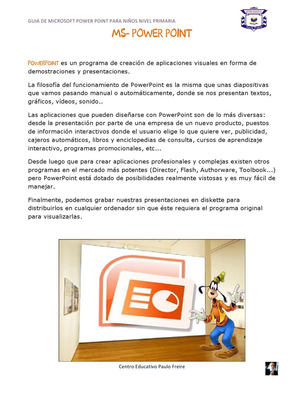 Guia PowerPoint by Tutor Siete - issuu