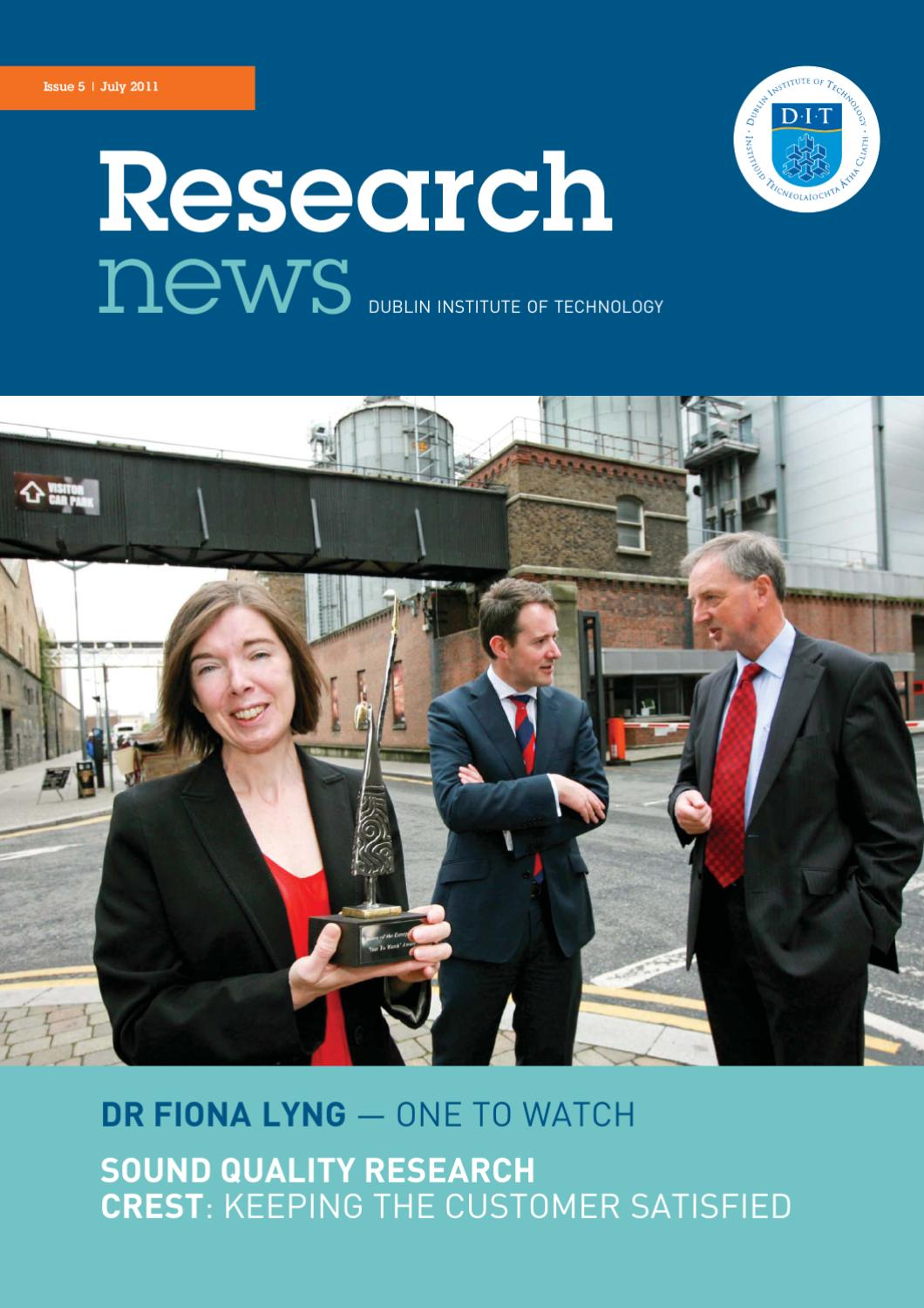 Research News July 2011 by TU Dublin - issuu