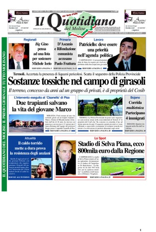 il quotidiano del molise del 23 agosto 2011 by Bruno Marrone - issuu b9ec24b2aa02