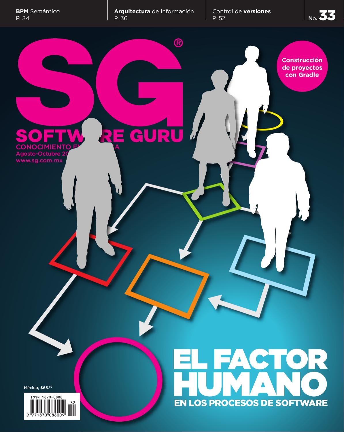 SG33 (Agosto-Octubre 2011) by Revista Software Guru - issuu