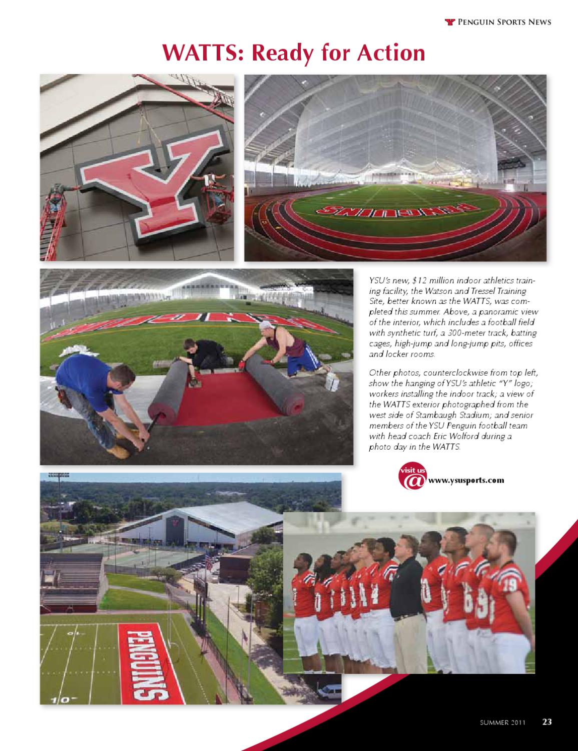YSU Summer Magazine - The Value of Internships by Youngstown State