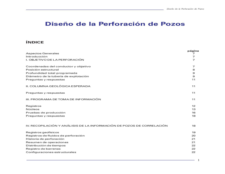 diseño de perforacion by Alejandro Gil - issuu