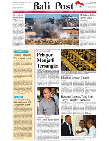 Edisi 24 Agustus 2011 Balipost Com By E Paper Kmb Issuu
