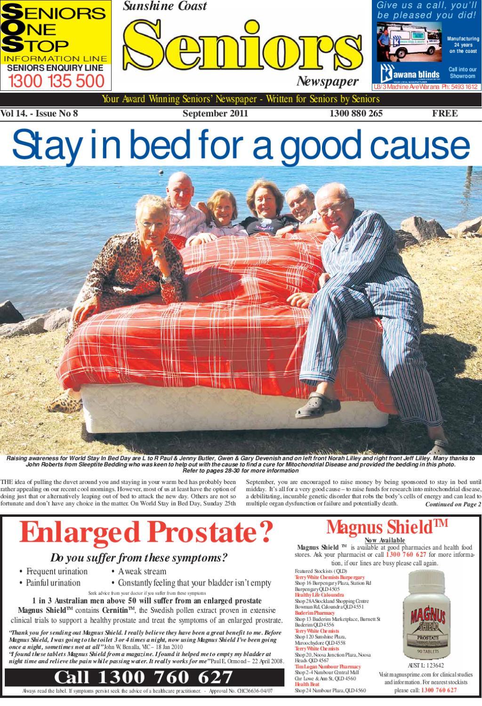 Sunshine Coast Seniors Newspaper September 2011 by Seniors