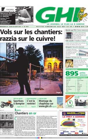 bcbf0c38c84ce8 GHI du 25 08 2011 by GHI   Lausanne Cités - issuu