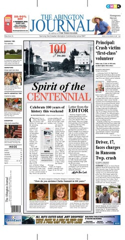 1117135d7aa The Abington Journal 08-24-2011 by The Wilkes-Barre Publishing ...