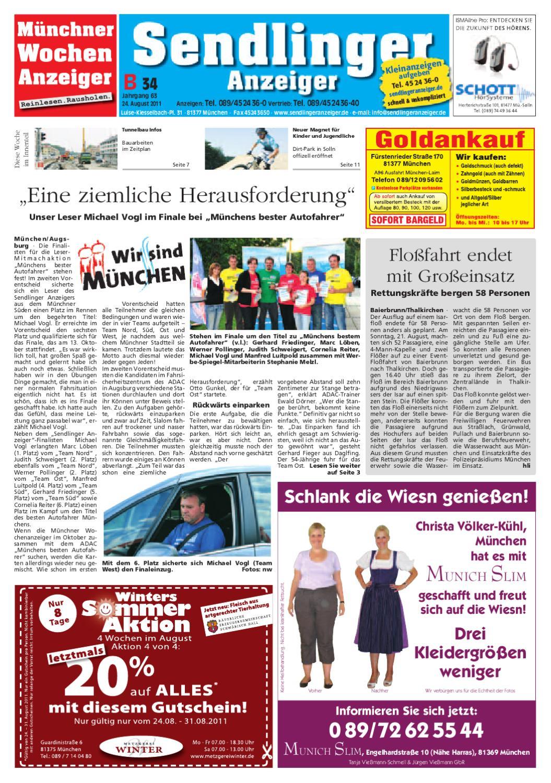 KW 34-2011 by Wochenanzeiger Medien GmbH - issuu