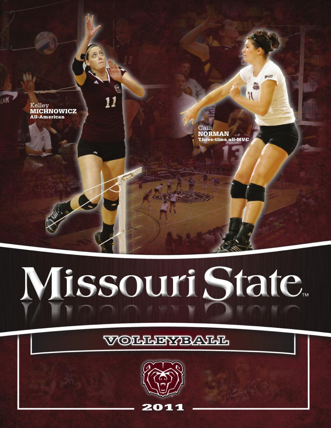 2011 Volleyball Guide by Missouri State Bears - issuu f3f90c2df