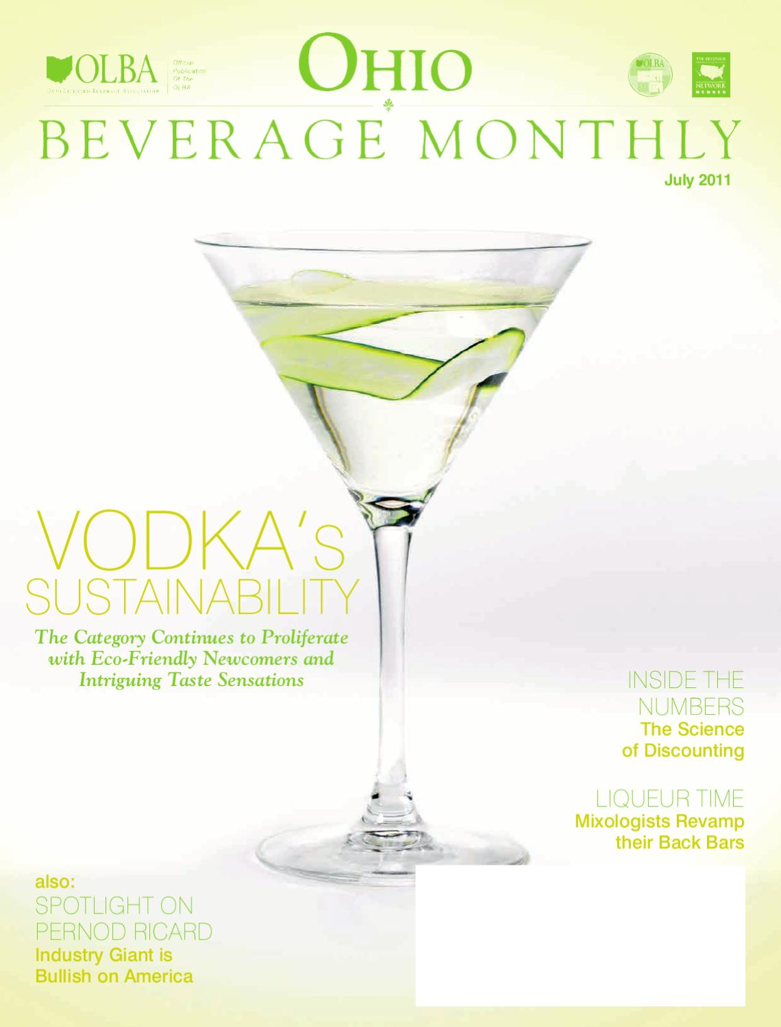 Ohio Beverage Monthly By Molly Hunter