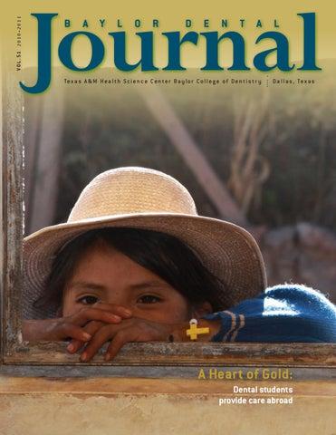 Baylor Dental Journal Vol51 By Art Upton Issuu