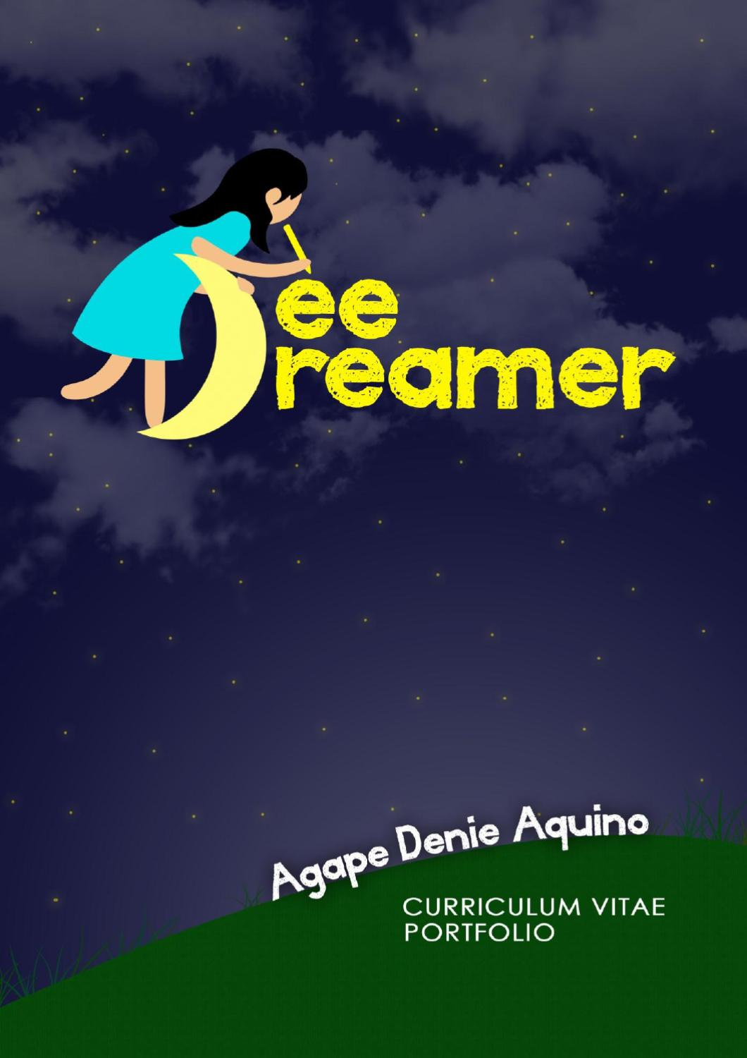agape denie aquino cv and portfolio by agape denie aquino