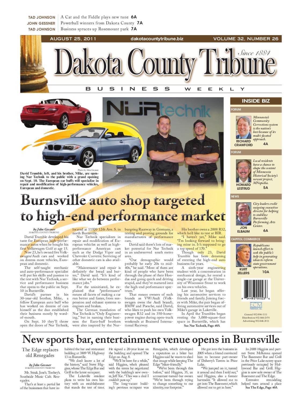 08/25/2011 - dakota county tribune business weekly by dakota