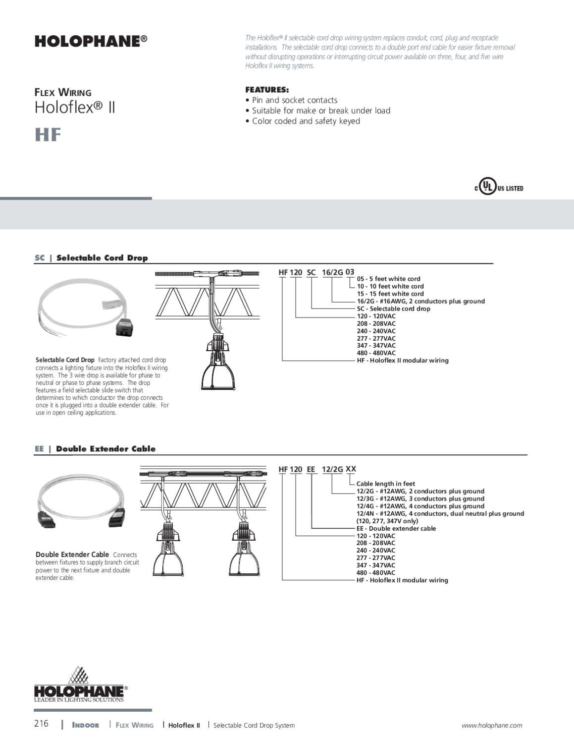 Holophane Indoor Product Catalog By Alcon Lighting Issuu What Is A Modular Wiring System