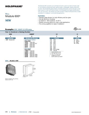 holophane outdoor product catalog by alcon lighting issuu topaz wiring diagram holophane wiring diagrams #47