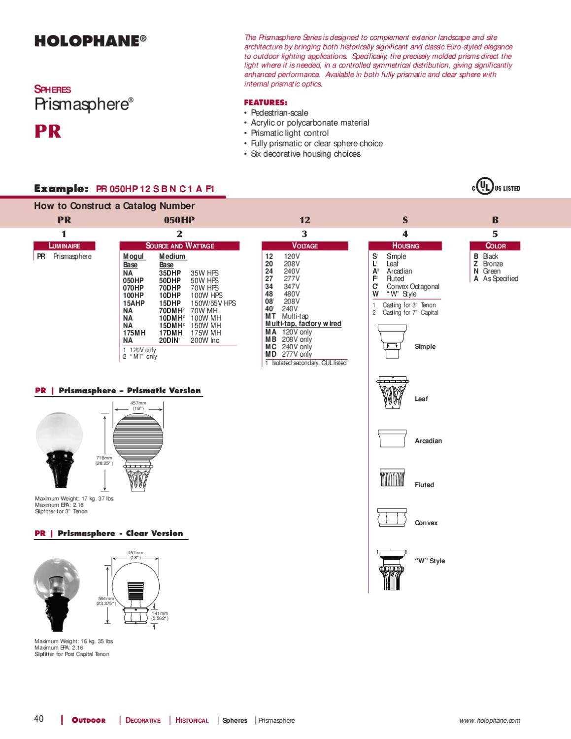 Holophane Washington Post Lite Wiring Diagram Diagrams Outdoor Product Catalog By Alcon Lighting Issuu