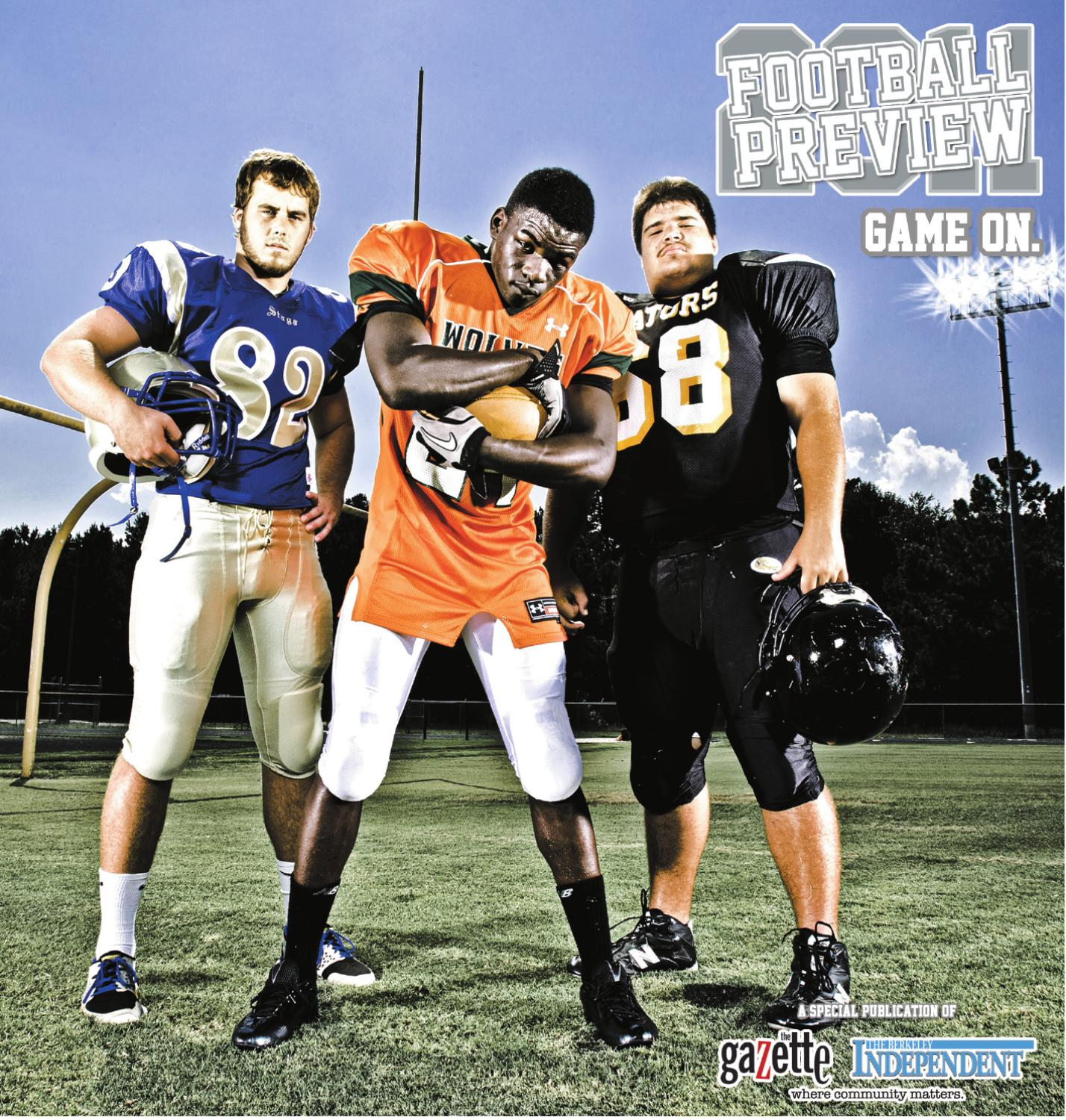 berkeley gazette football section 2011 by summerville communications