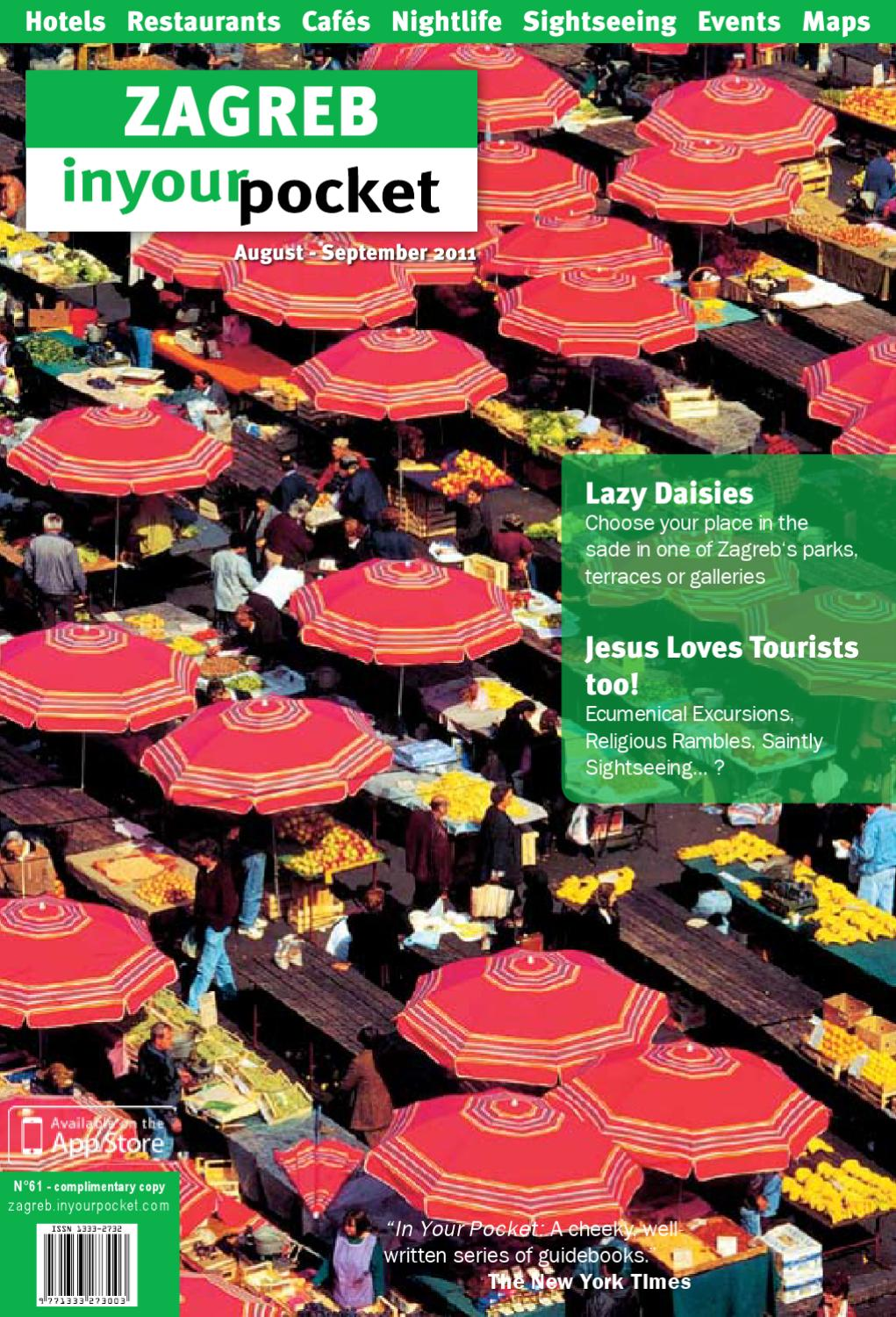 Zagreb In Your Pocket No61 By In Your Pocket City Guides Issuu
