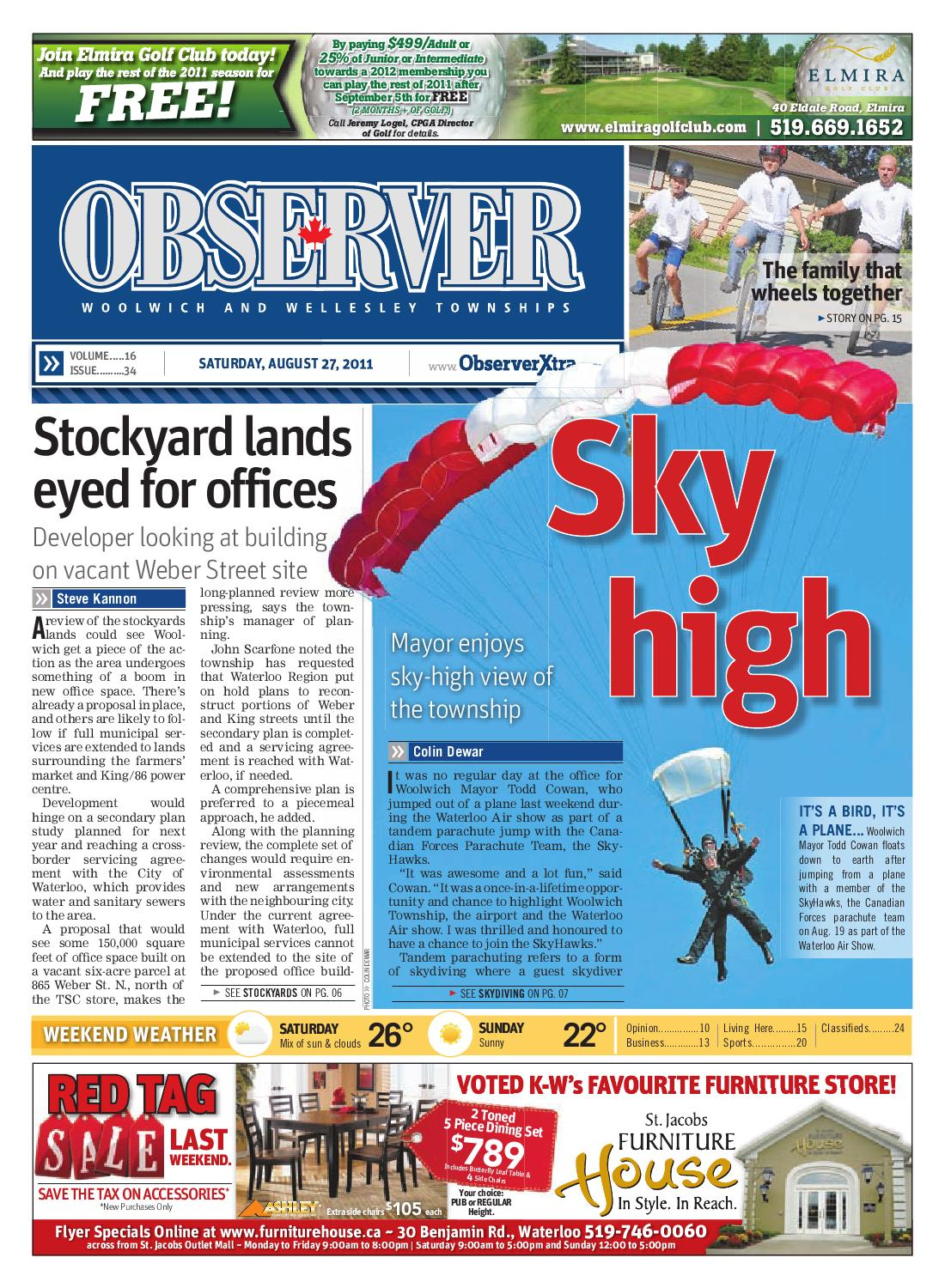 August 27, 2011 by Woolwich Observer - issuu