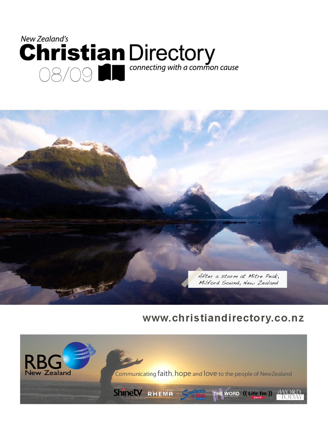 New zealand christian directory 2009 by initiate media issuu sciox Images