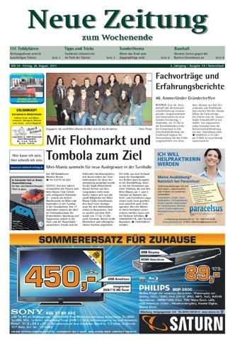 Neue Zeitung Ausgabe Ammerland Kw 34 By Gerhard Verlag Gmbh Issuu