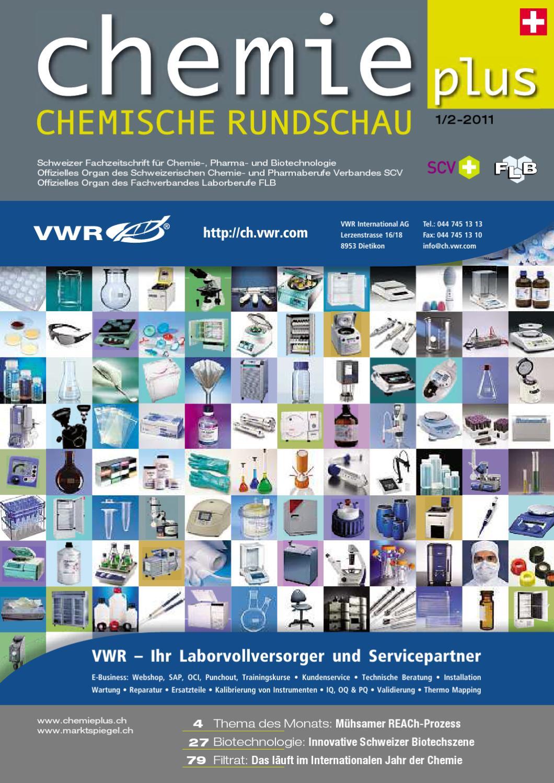 Chemieplus 2011/01 v2 by AZ Fachverlage AG - issuu
