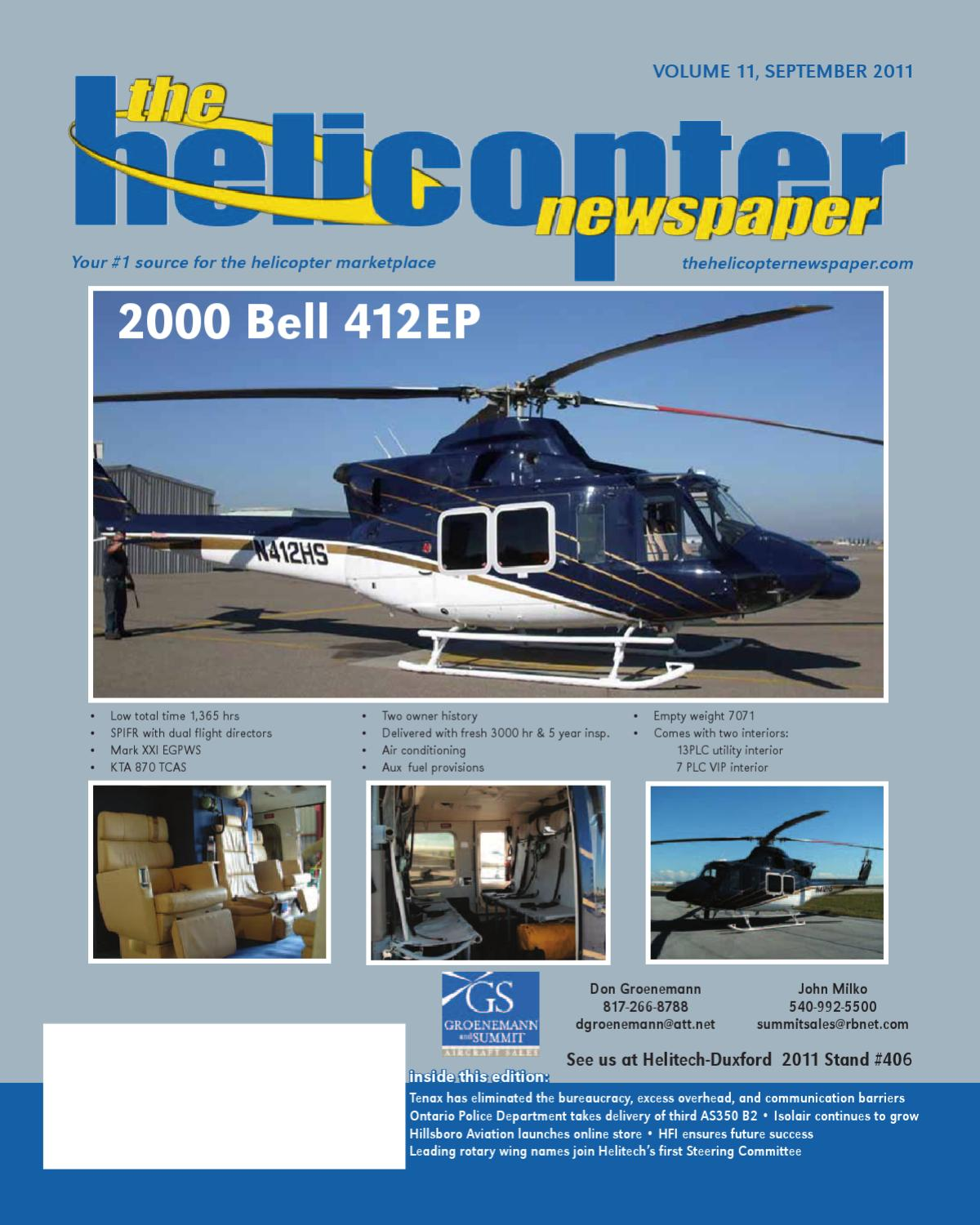 The Helicopter Newspaper - Sept 2011 by The Helicopter Newspaper - issuu