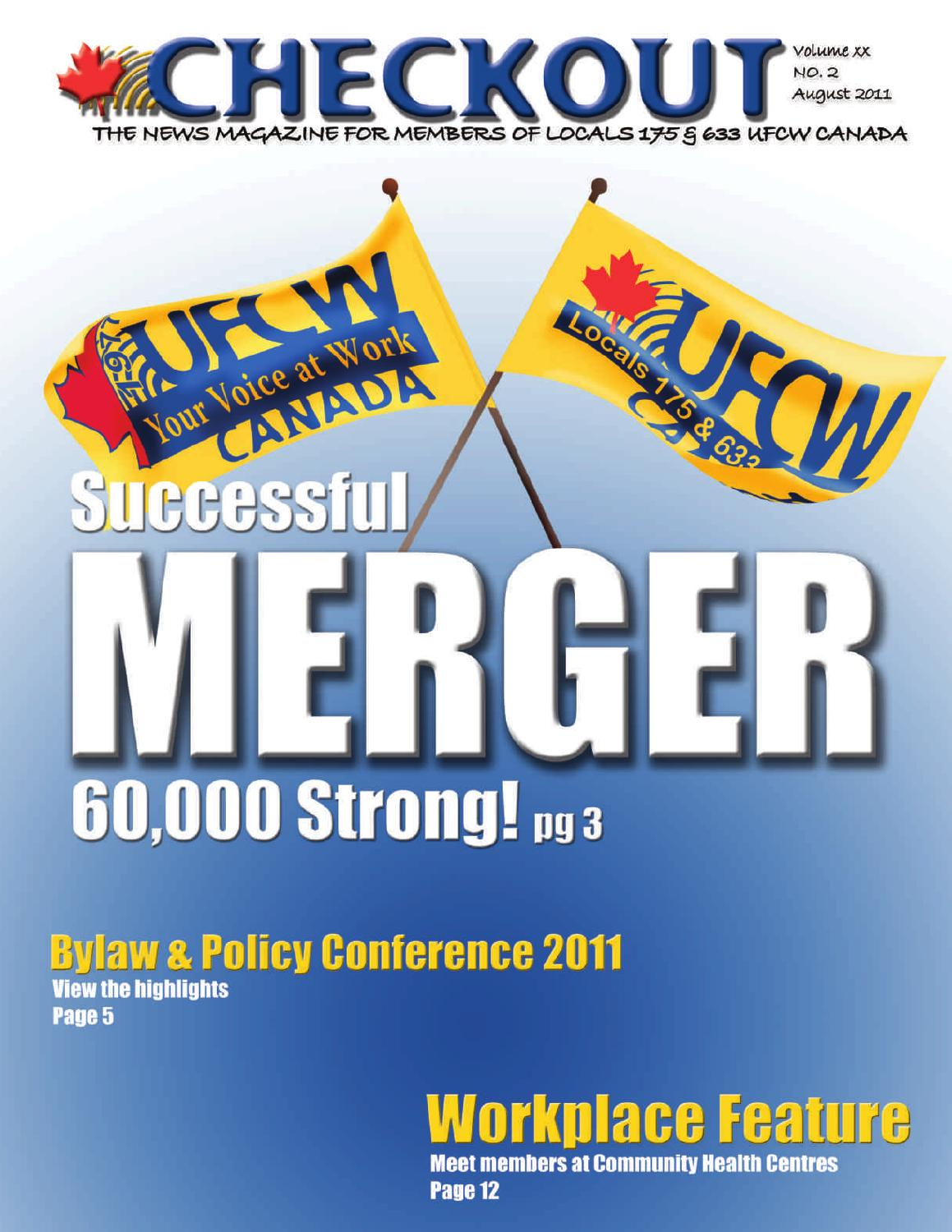 Checkout August 2011 by UFCW Locals 175 & 633 - issuu
