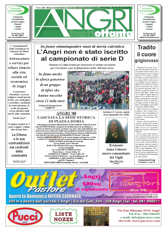angri 80 luglio 2011 by fatti parole - issuu - Arredo Bagno Angri