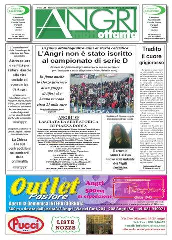 angri 80 by fatti parole - issuu - Arredo Bagno Angri