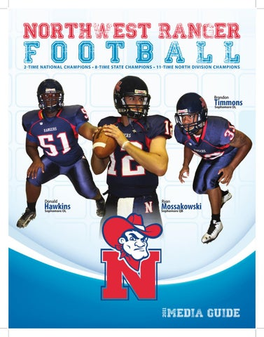 4ca09531656 2011 NWCC Football Media Guide by Northwest Mississippi CC - issuu