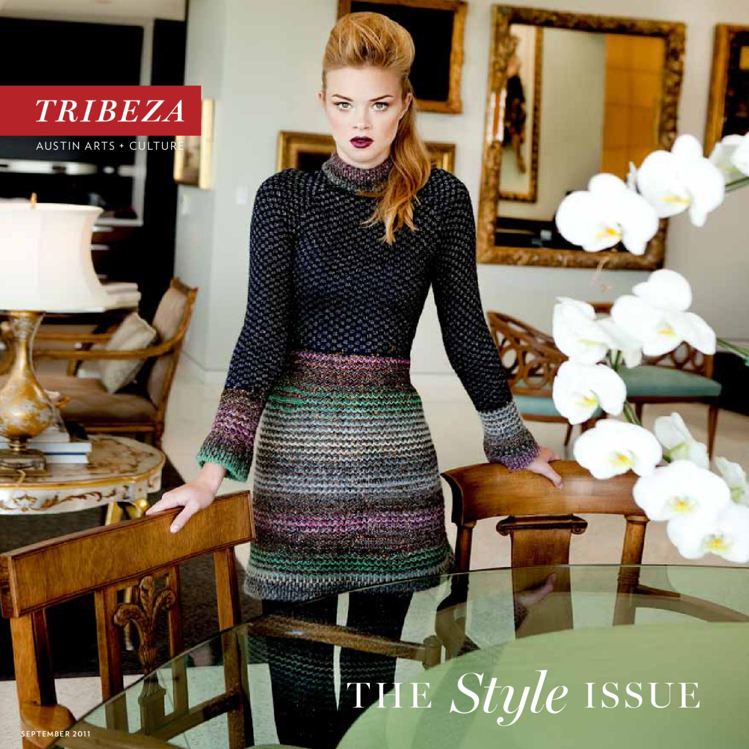 Tribeza September 2011 By Austin Curated Issuu Tendencies Short Shirts Abstrac Navajo Orange L