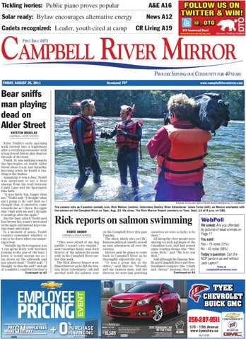 August 26 2011 mirror by campbell river mirror issuu page 1 fandeluxe Gallery