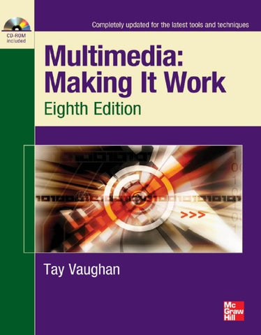 Multimedia making it work eighth edition by victor gutierrez issuu page 1 fandeluxe Choice Image