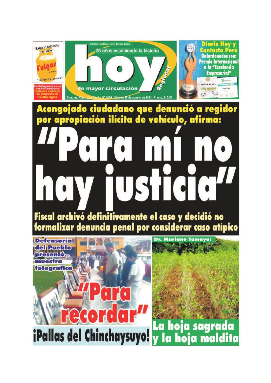Hoy 27 de agosto 2011 by Diario Hoy - issuu