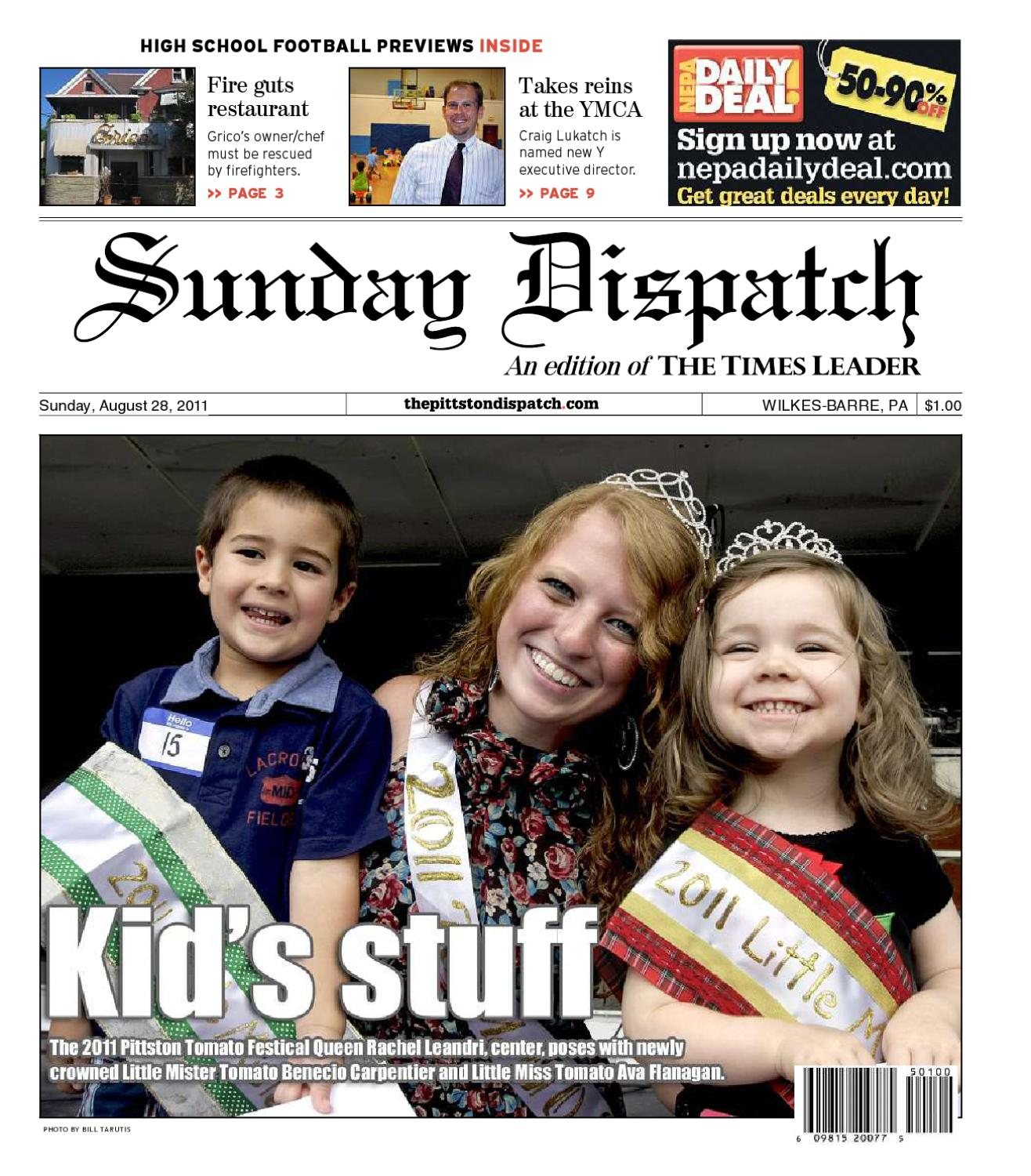 a881537a8cc The Pittston Dispatch 08-28-2011 by The Wilkes-Barre Publishing Company -  issuu