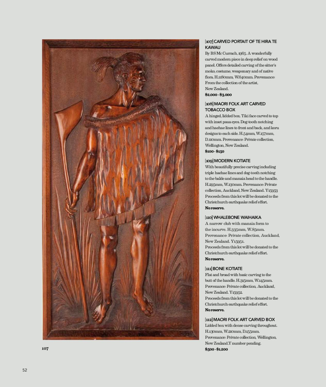 977 Oceanic And African Arts By Webb S Auction House Issuu