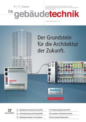 HK-Gebäudetechnik 2011/08 by AZ Fachverlage AG - issuu