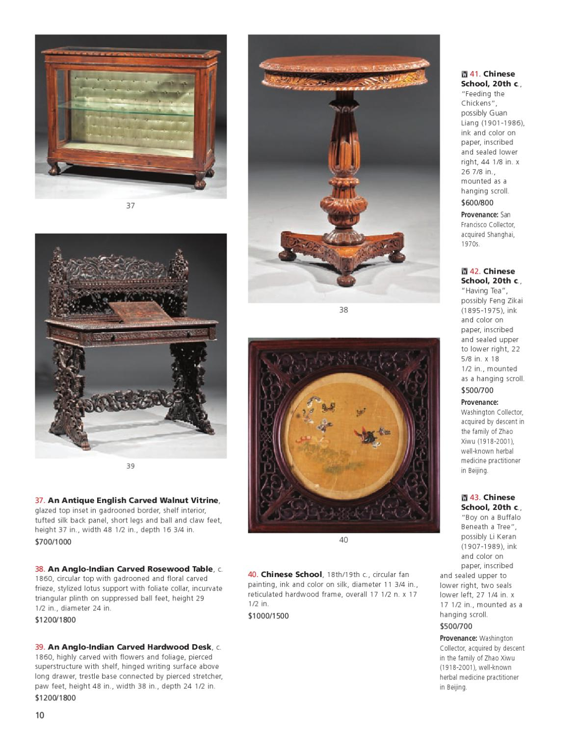 Autumn Major Estates Auction, 9/10 & 9/11 by Neal Auction - issuu