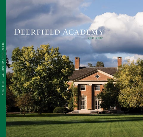 Deerfield Academy Viewbook 2011 12 By