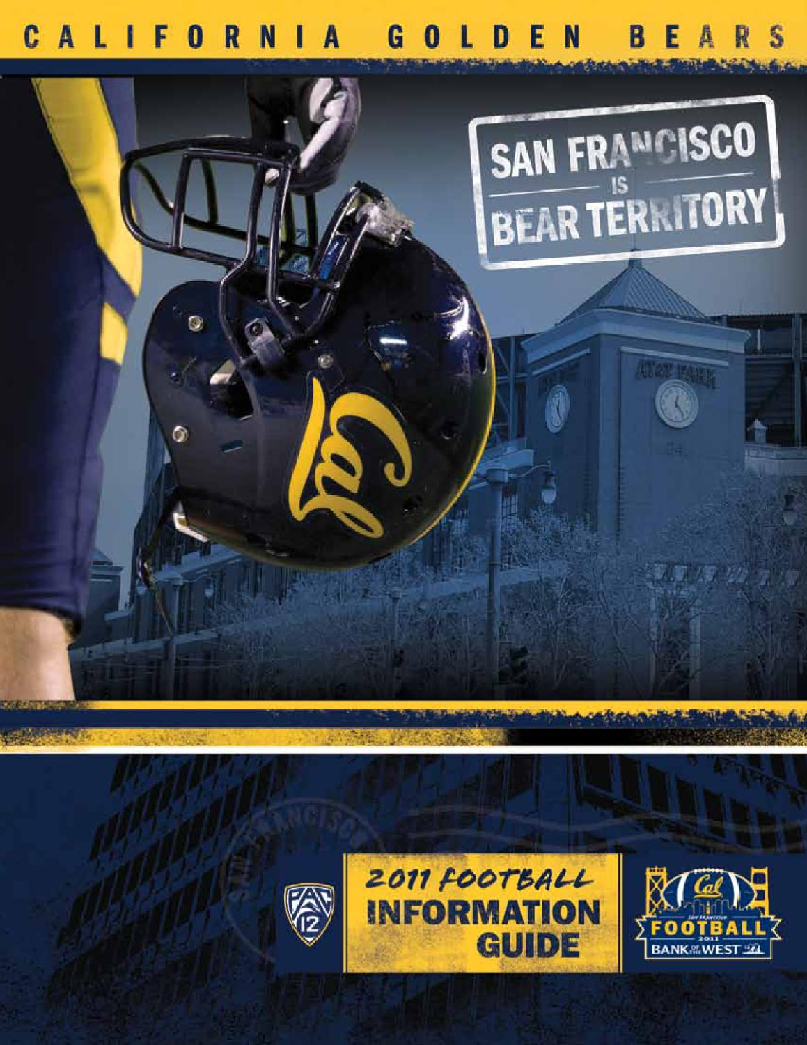 9c439d62d6a66c 2011 California Football Information Guide by Cal Media Relations - issuu