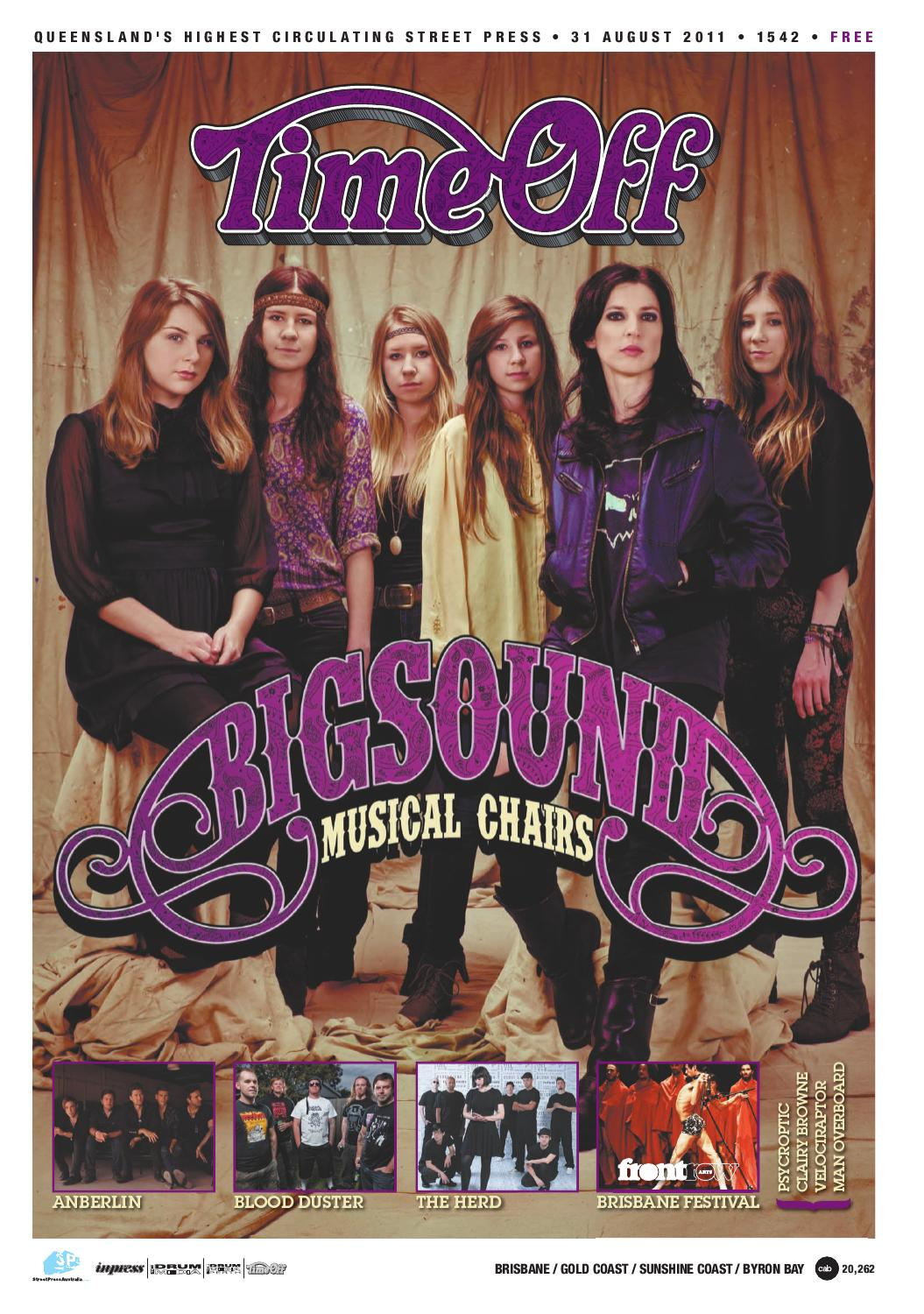 Time Off Issue #1542 by TheMusic.com.au - issuu