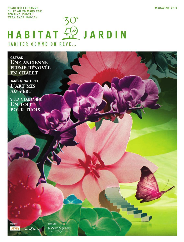 Habitat et Jardin 2011 by Inédit Publications SA - issuu 326c46d52dbe