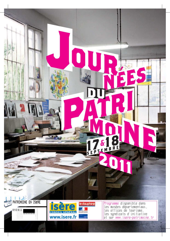 Brochure Du De La Et 2011 Patrimoine Culture By Journées Direction A5LR4j3
